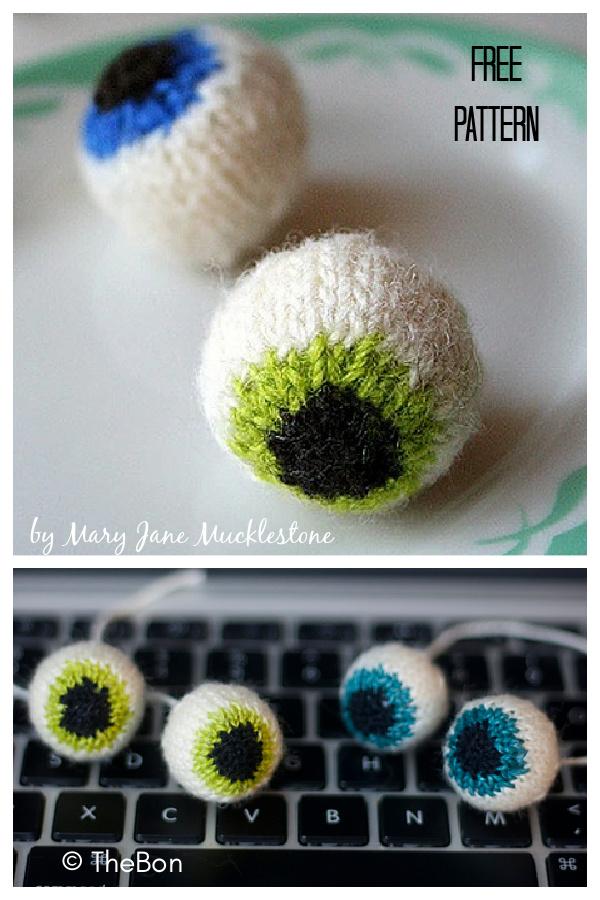 Eyeball Free Knitting Pattern