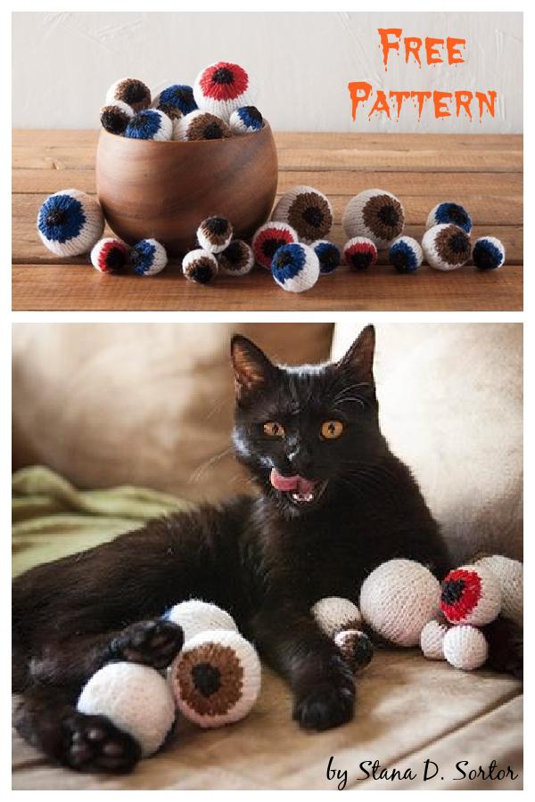 Eyeballs Free Knitting Pattern