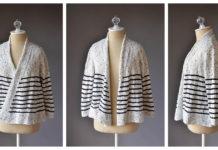 Grand Staff Cardi Free Knitting Pattern