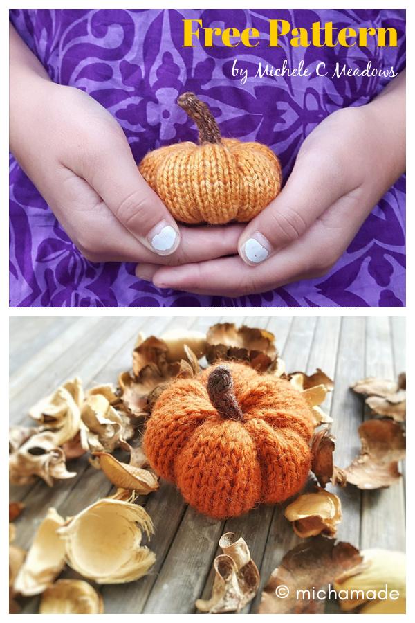 Petite Pumpkin Free Knitting Pattern