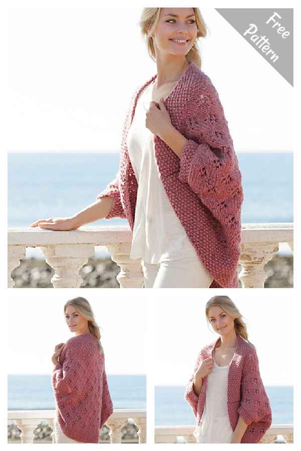 Summer Cocoon Free Knitting Pattern