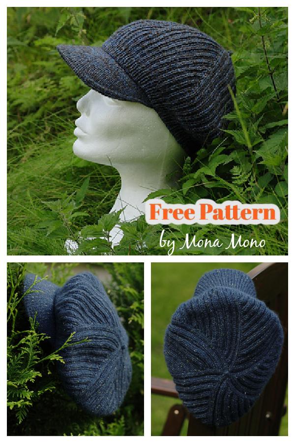 Tempo's Headcoat Cap Free Knitting Pattern