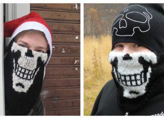 The Skull Kerchief Free Knitting Pattern