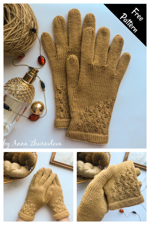 Yantar Gloves Free Knitting Pattern