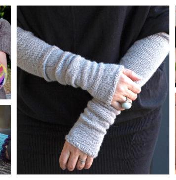 Arm Warmers Free Knitting Pattern