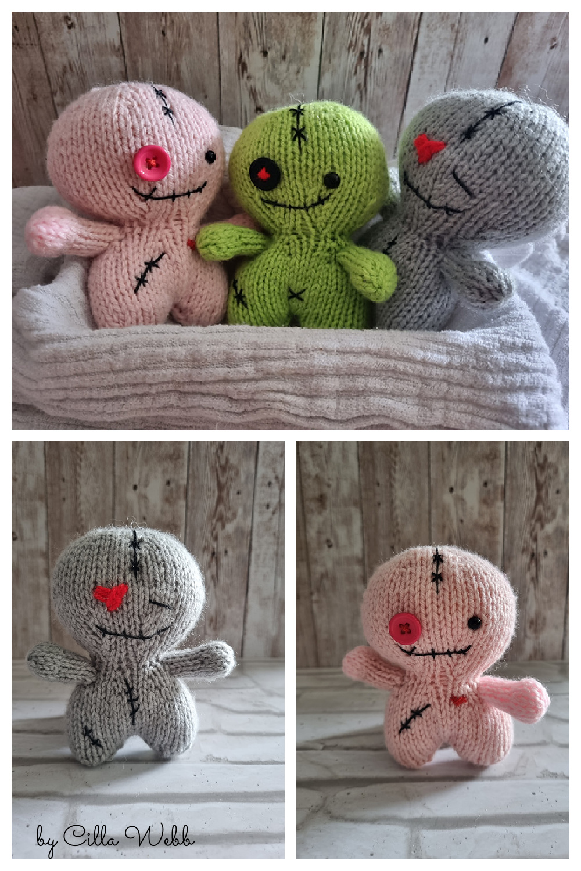 Halloween Scrump Doll Free Knitting Pattern