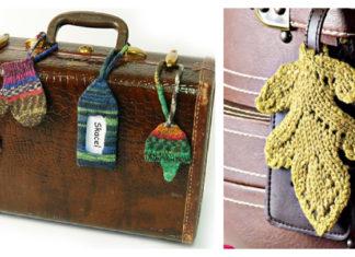 Luggage Tag Free Knitting Pattern