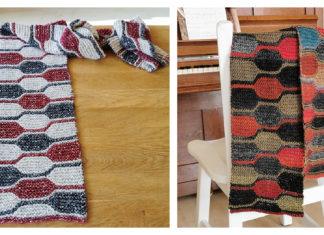 Short Row Scarf Free Knitting Pattern